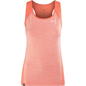Salewa Pedroc 2 Dry - Camisa sin mangas Mujer - rojo